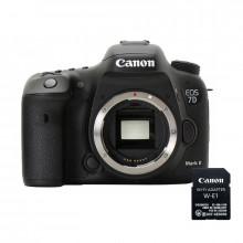 Canon EOS 7D Mk II Body & Wifi Adapter