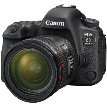 Canon EOS 6D Mark II + 24-70mm F4 L IS Lens