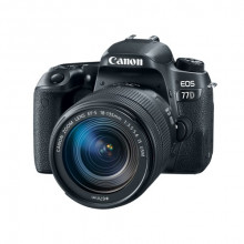Canon EOS 77D + 18-135mm IS USM Lens