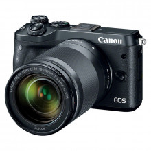 Canon EOS M6 Mirrorless Digital Camera & 18-150mm Lens