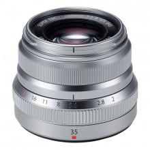 Fujifilm XF 35mm f/2 R WR Lens (Silver)
