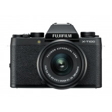 Fujifilm X-T100 BLack with 15-45mm Lens