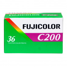 Fujicolour C200 36 Exposure Film Single Pack