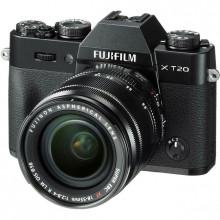 Fuji X-T20 Mirrorless with 18-55mm Lens (Black)