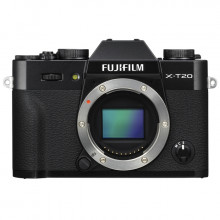 Fuji X-T20 Mirrorless Body (Black)