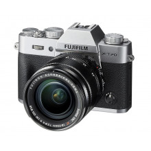 Fuji X-T20 Mirrorless with 18-55mm Lens (Silver)