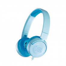 JBL JR300 Kids On-Ear Headphones (Blue)