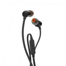 JBL T110 In-Ear Headphones (Black)