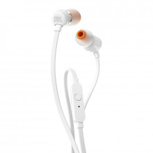 JBL T110 In-Ear Headphones (White)