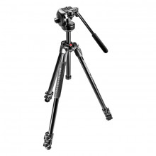 Manfrotto MK290XTA3-2W 290 Xtra Aluminium 3-Section Kit with Fluid Head