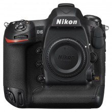 Nikon D5 DSLR Camera (Body Only, CompactFlash) Front View