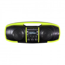 Nuke Junior Portable Bluetooth Speaker (Lime)