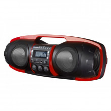 Nuke Junior Portable Bluetooth Speaker (Red)