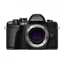 Olympus OM-D E-M10 Mark III Mirrorless Camera Body Only | Black