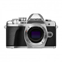 Olympus OM-D E-M10 Mark III Mirrorless Camera Body Only | Silver
