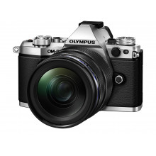 Olympus OM-D E-M5 Mk II Silver & Black M.ZUIKO DIGITAL ED 12‑40mm f2.8