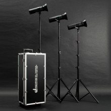 Photon 3 Piece 500W LED Studio Kit