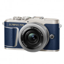 Olympus PEN E-PL9 kit with 14-42mm EZ Lens (Blue)