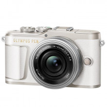 Olympus PEN E-PL9 kit with 14-42mm EZ Lens (White)