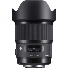 Sigma 20mm f1.4 DG HSM Art for Sony E - mount
