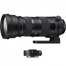 Sigma 150-600mm F5-6.3 Contemporary Lens & TC-1401 1.4x Teleconverter for Canon