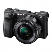 Sony Alpha a6500 Mirrorless Digital Camera & 16-50mm Lens