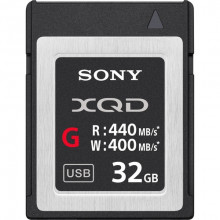 SONY 32GB XQD G-Series 440MBs