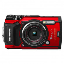 Olympus Tough TG-5 Digital Camera in Red