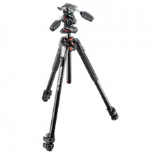 Manfrotto MK190XPRO3-3W Aluminum Tripod with 3-Way Pan/Tilt Head - 1