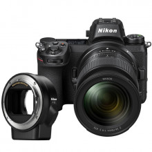 Nikon Z7 + 24-70MM F4 + FTZ Mount Adapter
