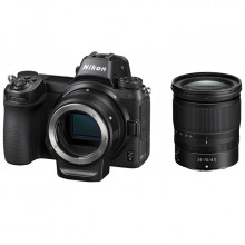 Nikon Z6 Full-Frame Mirrorless Digital Camera + 24-70mm Lens + FTZ Adaptor