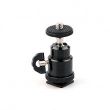 Xtreme Hot Shoe with Mini Ball Head & Lock Tight Mount