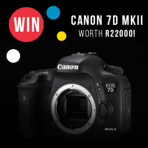 WIN: Canon EOS 7D MK II Body competition