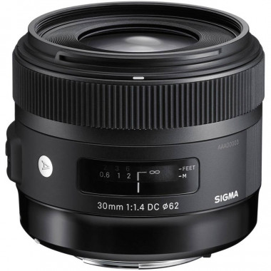 Sigma 30mm F1.4 EX DC HSM Art for Nikon