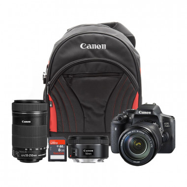 Canon EOS 750D Create Bundle