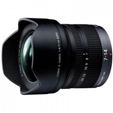 Panasonic Lumix G Vario 7-14mm f/4.0 ASPH. Lens Black