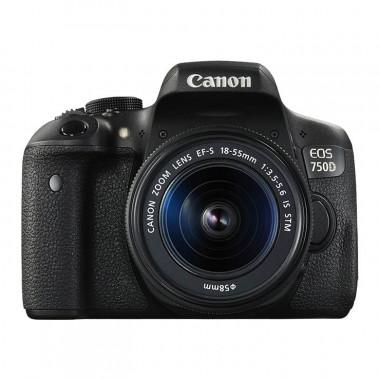 Canon EOS 750D + 18-55 IS STM Lens Kit