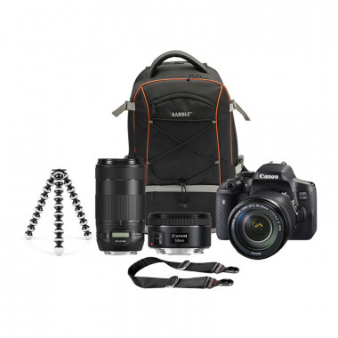 Canon EOS 750D Direct Bundle with Free Canon CS100 Connect Station