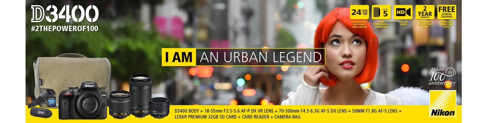 Nikon #2ThePowerOf100 Promotion