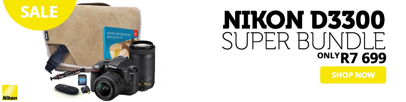 Nikon D3300 Super Bundle