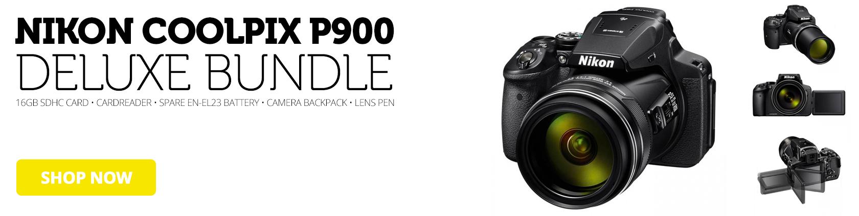 Nikon Coolpix P900 Deluxe Bundle